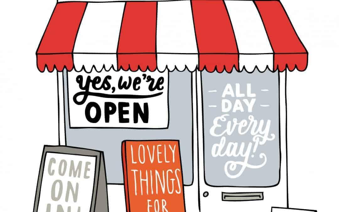 Apertura di un nuovo negozio a roma semplice ma come for Nuova apertura grande arredo bari